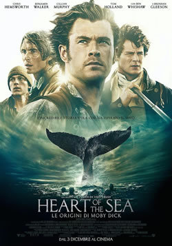 HEART OF THE SEA- LE ORIGINI DI MOBY DICK